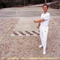 Tennis Court Sweeper